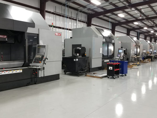UA2090Ti multi-axes vertical machining centers at Dynamic NC