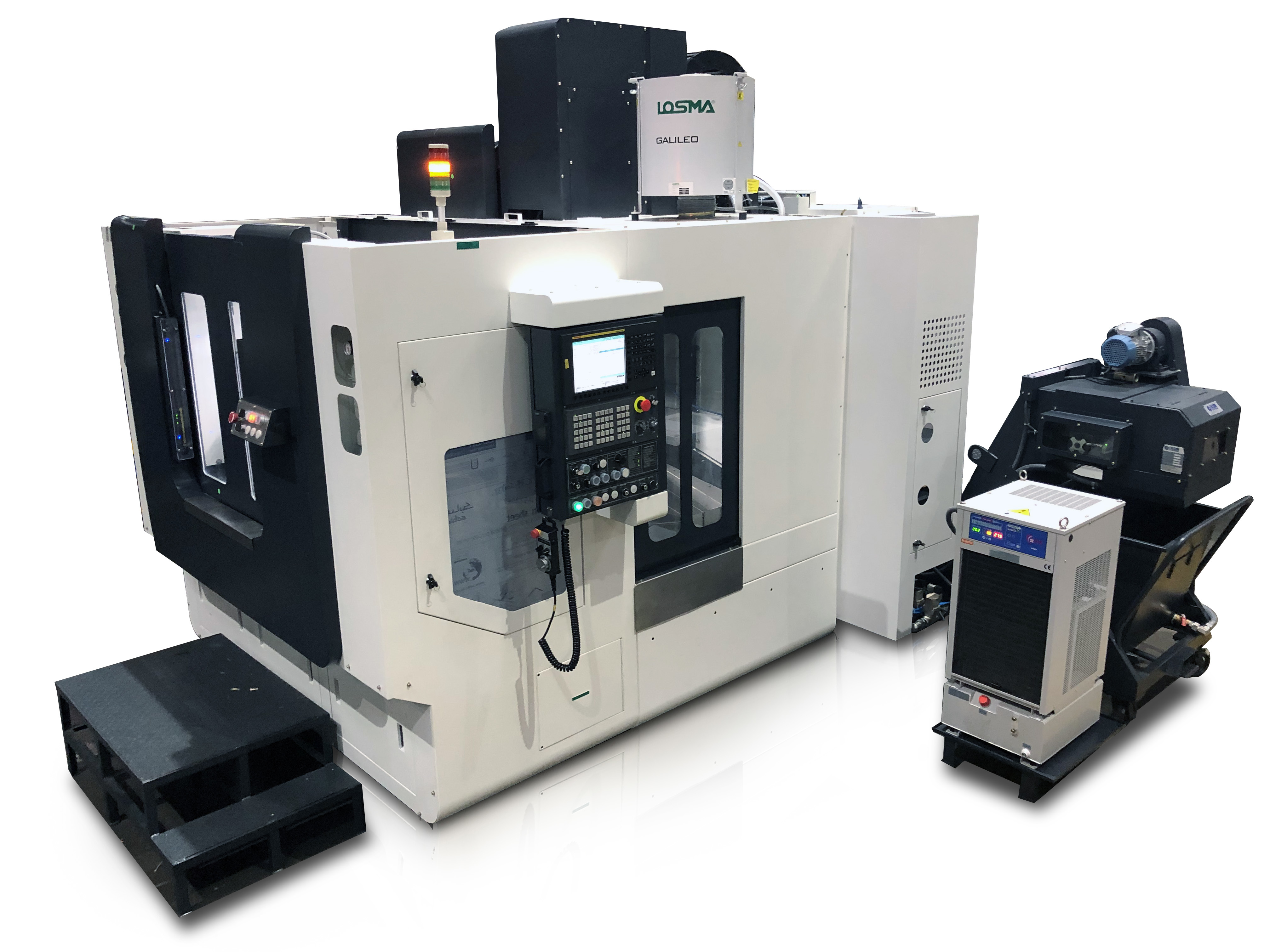 MCV 450 with pallet changer