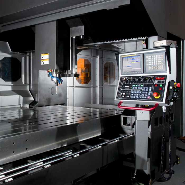Bridge Mill CNC Control