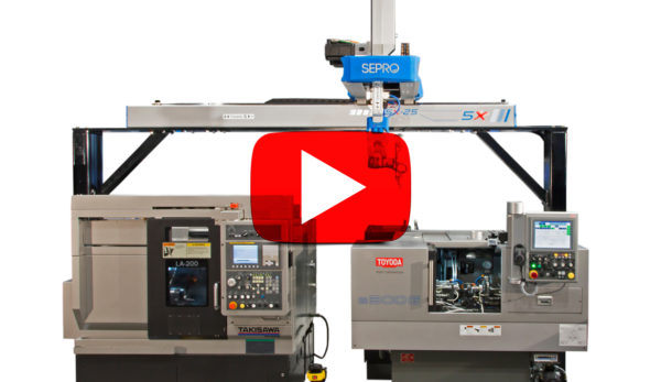 Gantry Loading at IMTS 2016 for Toyoda Grinders