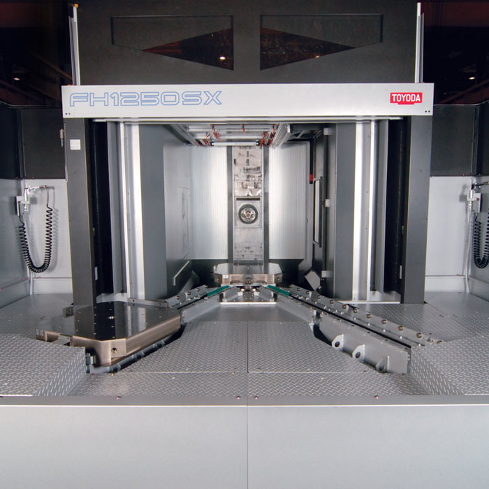 FH1250SX Machining Center with Two Pallet Changer