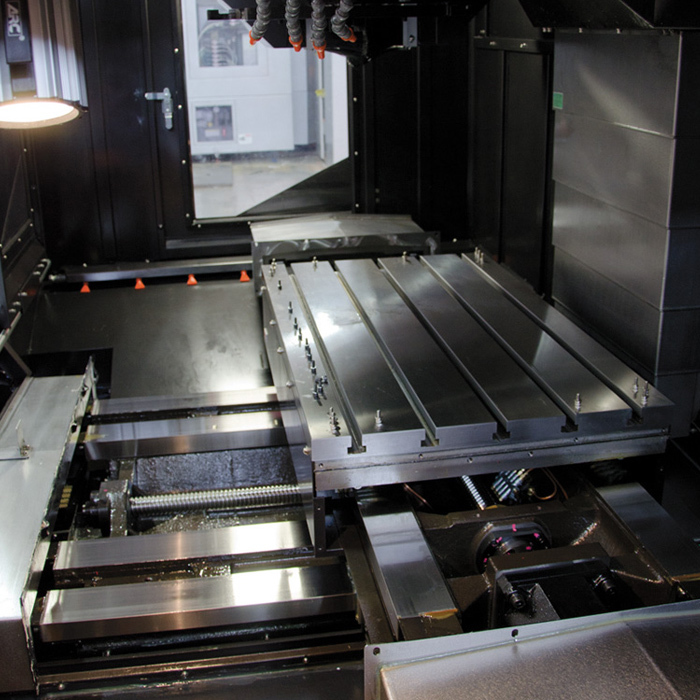 Stealth Series Work Envelope - Toyoda Vertical Machining Centers