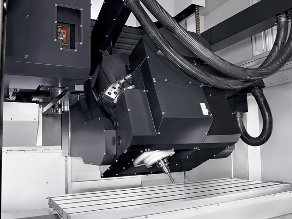 Simultaneous five-axis capabilities