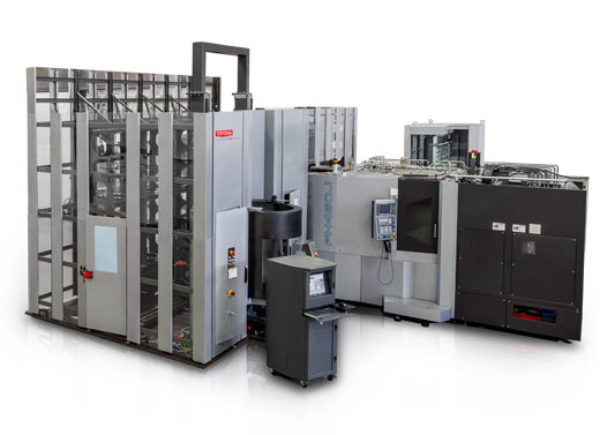 FMS Pallet Automation with Machine