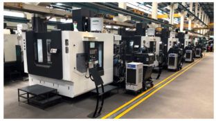 MCV Vertical Machining Center Line