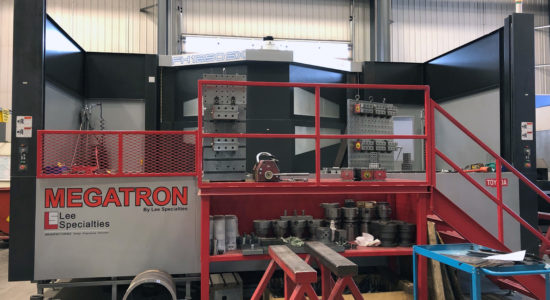 FH1250SX Horizontal Machining Center at Lee Specialties