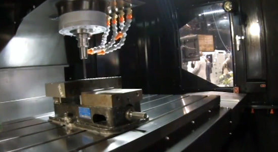 Stealth Vertical Machining Center at IMTS2014