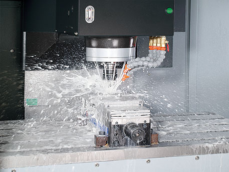FV Vertical Machining Center Coolant