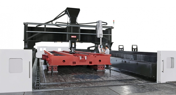 MG Series Gantry Mill Machining
