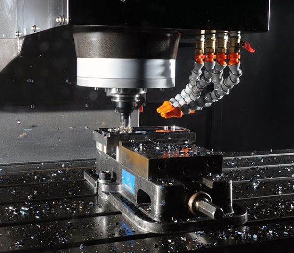 Stealth Vertical Machining Center Cutting